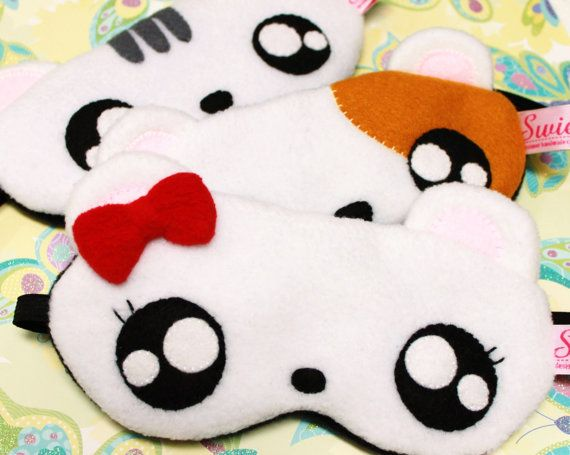 FREE SHIPPING! 2 Pieces Sleeping Eye-Masks for A Couple - Choose 2 Hamsters