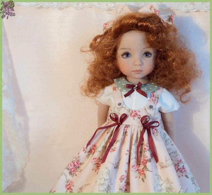 "effner little darling doll | HAWTHORN "" Dress for EFFNER Little Darling 13"" Doll"