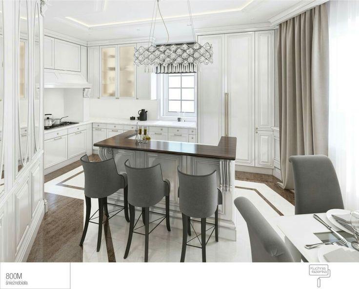 Kitchen Dining Room Art Deco Style D Render. Kitchen Gallery At Art Deco  Kitchen