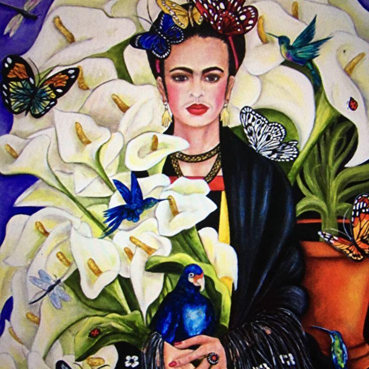 die besten 25 frida kahlo prints ideen auf pinterest schrullige kunst mexikanische kunst und. Black Bedroom Furniture Sets. Home Design Ideas