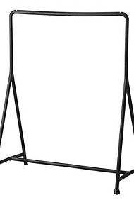 Hire clothing racks for your short term retail concept - black racks, white racks, metal clothing racks, commerical clothing racks