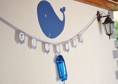 Il blog di El: Festa primo compleanno balena