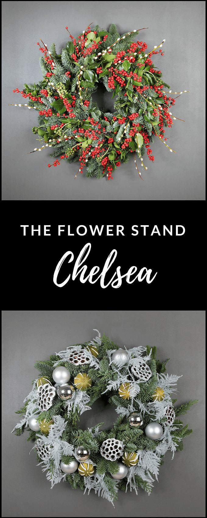 The UK's most beautiful Christmas Wreaths | Seasons in Colour | #christmaswreath #christmasdecor #christmasinspo #christmasstyling