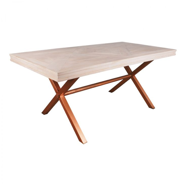 Croxley Antique Copper 1820mm Dining Table - Tables - Dining