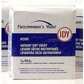 Fleischmann's Instant Yeast – 2/16 oz. bags « Lolly Mahoney