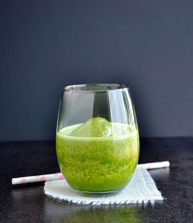 Vanilla Almond Chai Green Smoothie - taste love and nourish