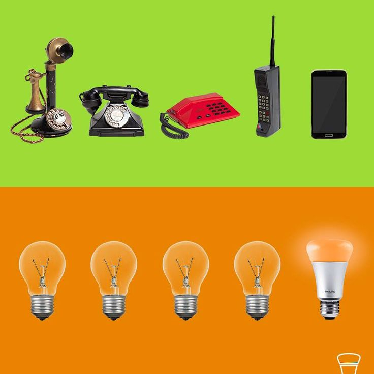 Thanks to the evolution of phones we use smartphones today. The evolution of lighting technology has given us smart lighting. The possibilities are countless!