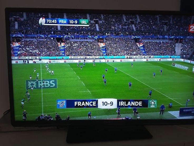 Deuxième match, deuxième victoire Tournoi des 6 Nations Première mi-temps dominée par les irlandais, mais une seconde période pleine d'envie. La défense irlandaise très combative, a cèdé à 10 minutes du terme. Un essai marqué par Médard derrière les poteaux...