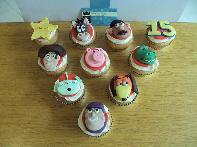 Toy Story Cupcakes | Flickr - Photo Sharing!