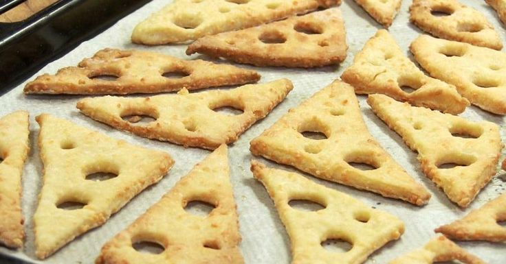Si eres un amante del queso...¡Te encantarán estas galletas!