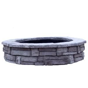 Top 25 Ideas About Stone Fire Pit Kit On Pinterest Stone