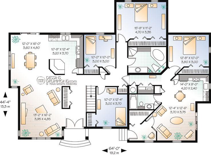 56db53c6b65e46b558534fb1fd947822 Top 25 Ideas About Plan Maison On Pinterest House Plans Design On Best Home Plans