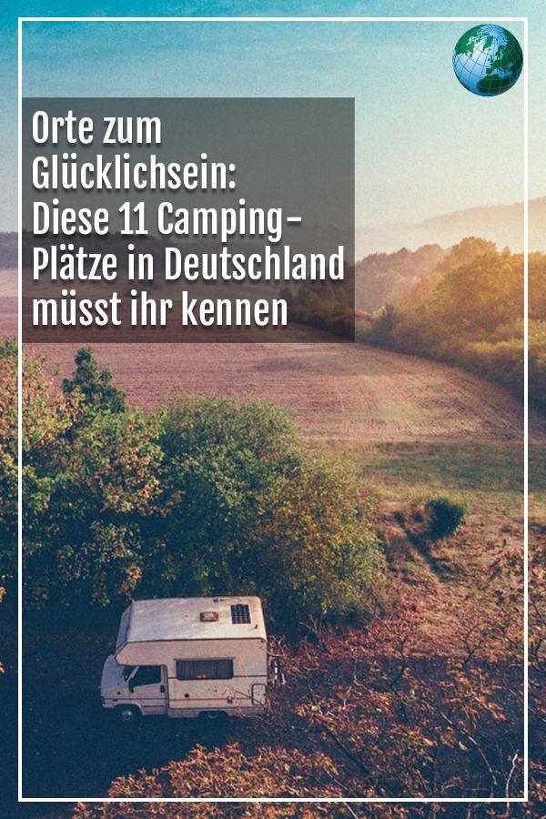 Orte zum Glücklichsein: Diese 11 Camping-Plätze in Deutschland müsst ihr kennen – FOCUS Online