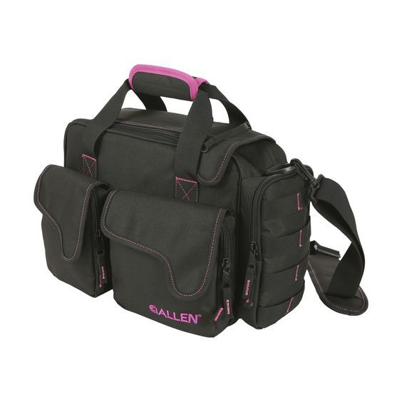 A perfect shooting range bag for women who like a bit pink without going over the top, the Dolores Compact Range Bag holds a firearm and all the essentials.