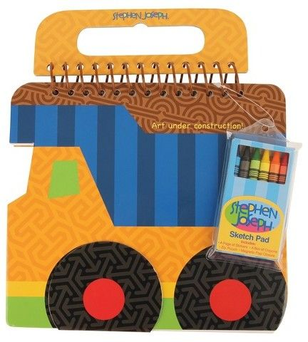 Stephen Joseph Shaped Sketch Pad | #kidsart #art #ad