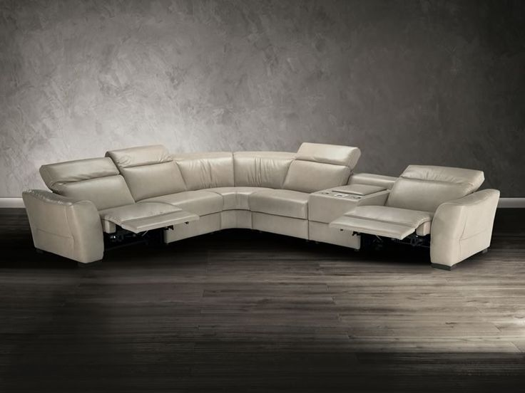 Leather Sectionals Contemporary Furniture And Modern Bedrooms On Pinterest