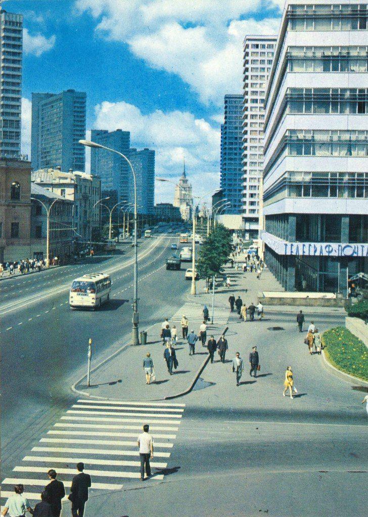 Проспект Калинина в Москве, 1973 год