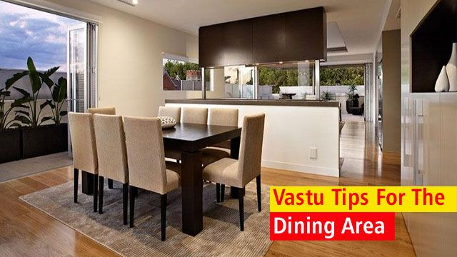 Vastu Tips For The Dining Area