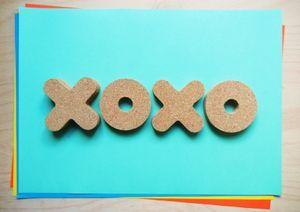 XoXo Coaster Set -  interactive game