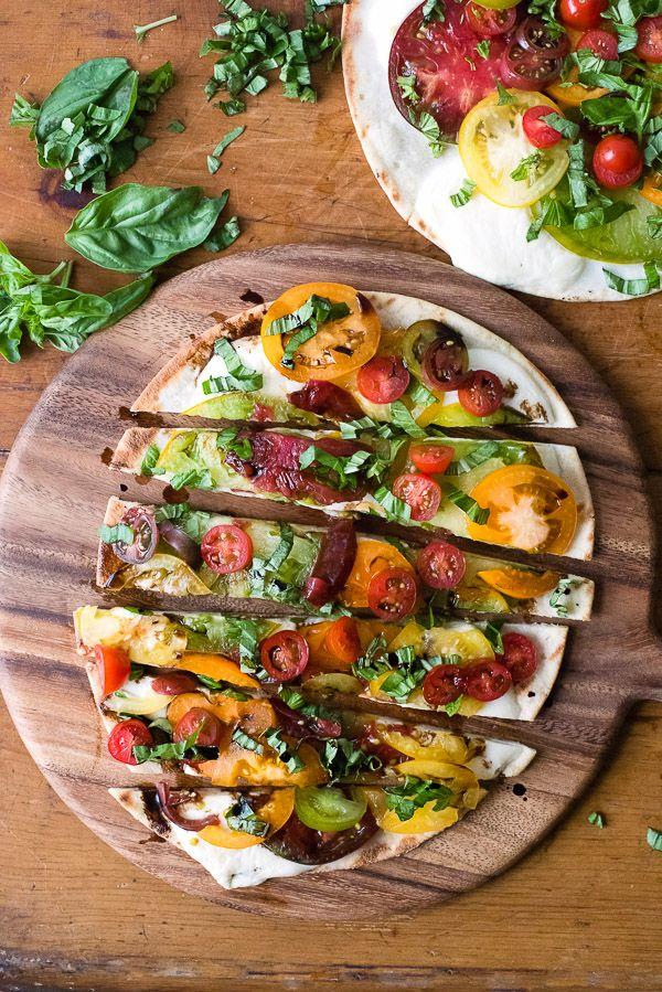 Grilled Caprese Pizza | Boulder Locavore