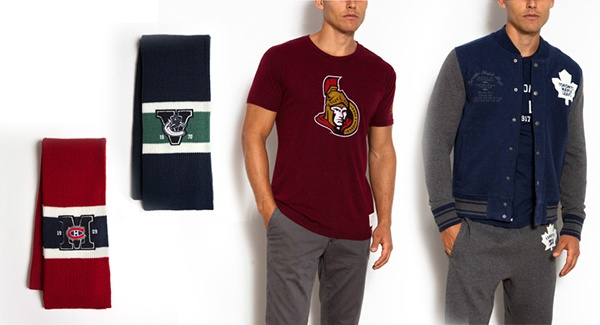 Roots NHL Clothing | Wear your team pride on your sleeve in these classic tees and sweats from #Roots.  #airmiles #playoffs