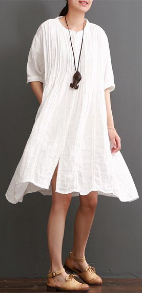 302 best 2017 linen dresses images on pinterest