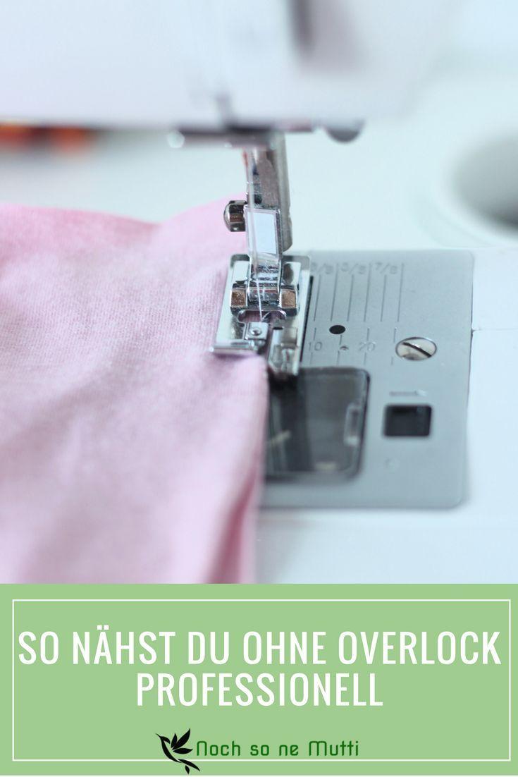 Ohne Overlock kann man auch Kleidung nähen. Mit dem richtigen Nähfuss wird deine normale Nähmaschine zu einem tollen Werkzeug. Der Overlockfuß für die Nähmaschine ist eine günstige Lösung für professionellere Nähte.