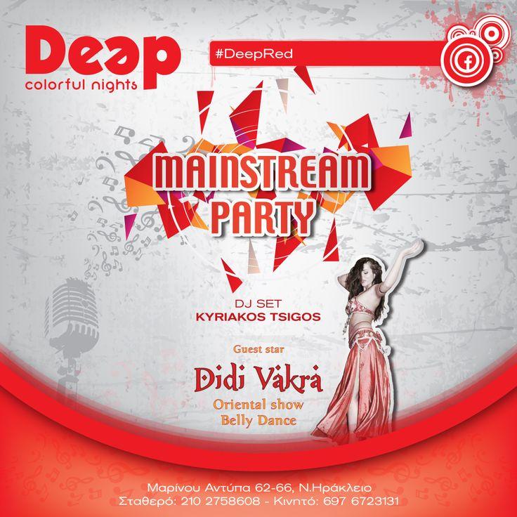 #DeepRed #Mainstream ~ Guest Dance Didi Vakra