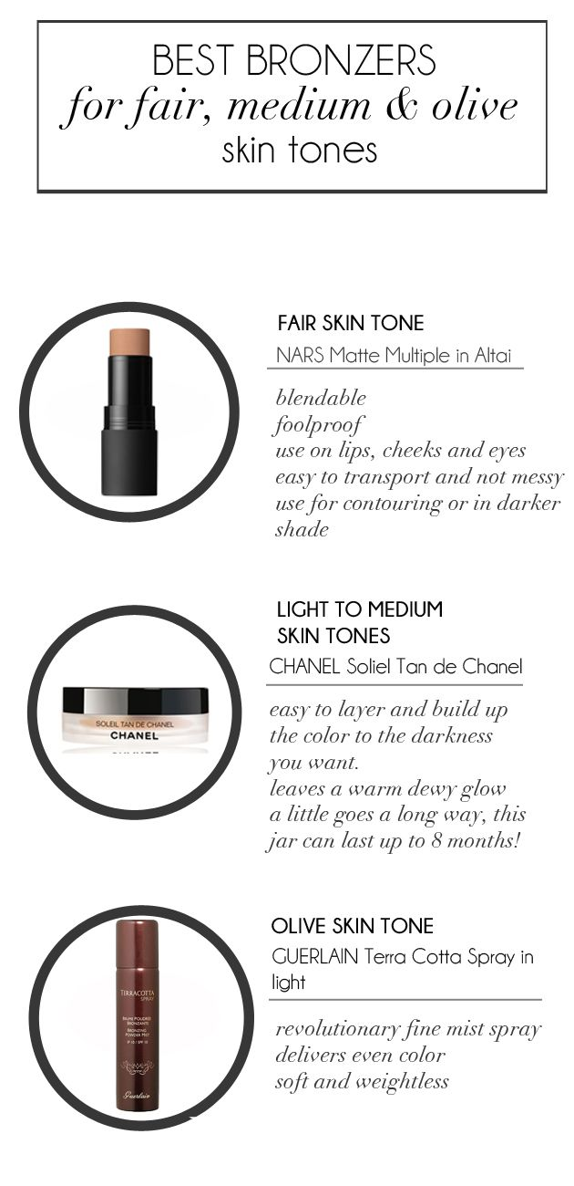 The 25+ Best Bronzer For Fair Skin Ideas On Pinterest  Makeup For Pale  Skin, Beauty Guide And Face Makeup Tutorials