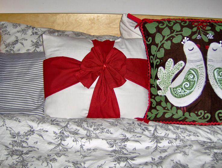 Aranyalma: Masnis karácsonyi párna  Christmas pillows DIY