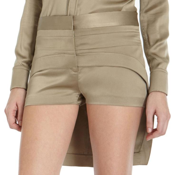 Butt-flap shorts. $1825