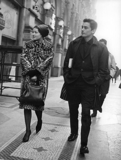 Romy Schneider et Alain Delon omg they're perfect!!