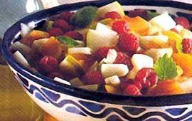 Fruktsallad med melon