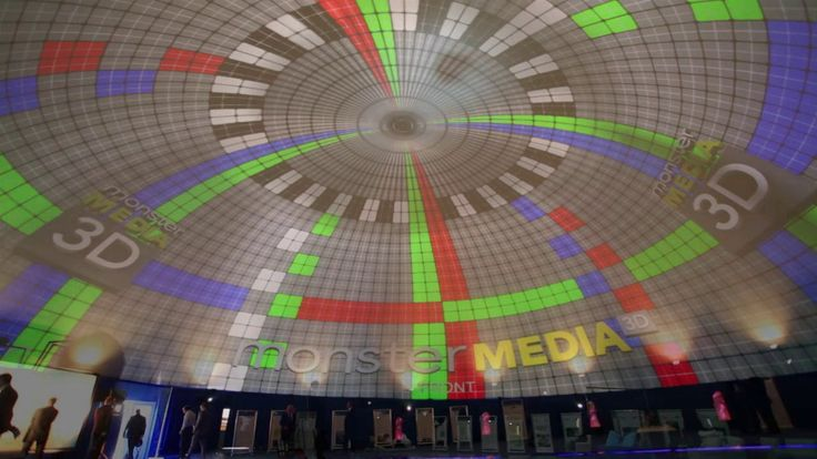 Our expertise in 3D building mapping as well as film production is a natural combination to bring creative into dome projections. Total immersion, movies 360 degrees…