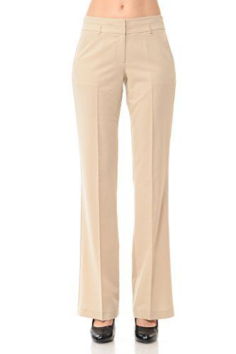 New Trending Pants: Maryclan Womens Solid Cool Tropical Career Office Wear Pants w/ Stylish Waistband (Large, Khaki). Maryclan Women's Solid Cool Tropical Career Office Wear Pants w/ Stylish Waistband (Large, Khaki)   Special Offer: $25.00      300 Reviews These pants are so thin that they can be dressed cool. It is an office pants for a career woman who can wear from spring to early fall. There is a...