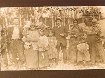 Atikamekw group at Manawan, Quebec - 1914