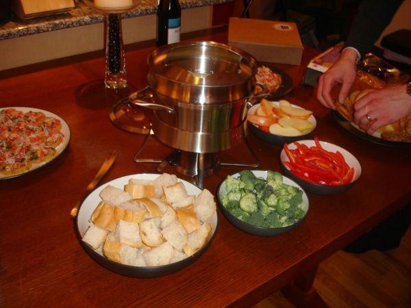 fondue beilagen käsefondue beilagen tolle rezepte