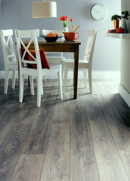 This Laminate flooring looks just like real wood!
