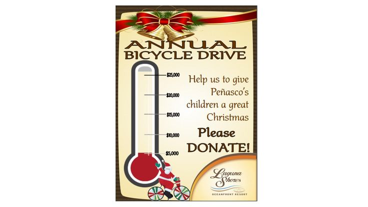 Please to donate to this year's Laguna Shores Christmas Program, please send your check payable to Laguna Shores, S. de R.L. de C.V. and send to:  LAGUNA SHORES RESORT  PO Box 1740  Lukeville, AZ 85341  Or you may make a donation by using your credit card by calling our offices at 1-800-513-1426 ext 0 or 2 or locally at (638) 383-4670. You can also donate through our PayPal account at paypal@lagunashoresresort.com (no personal PayPal account needed).