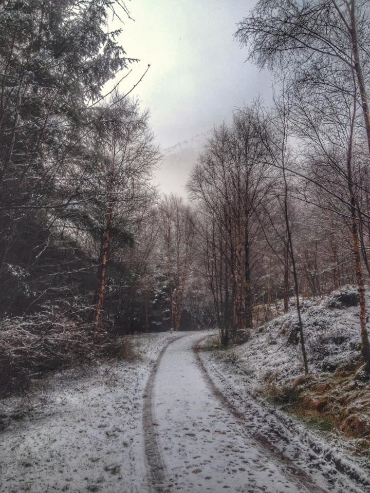 Winter path in Glen Nevis