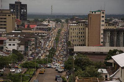 History of Monrovia, Liberia