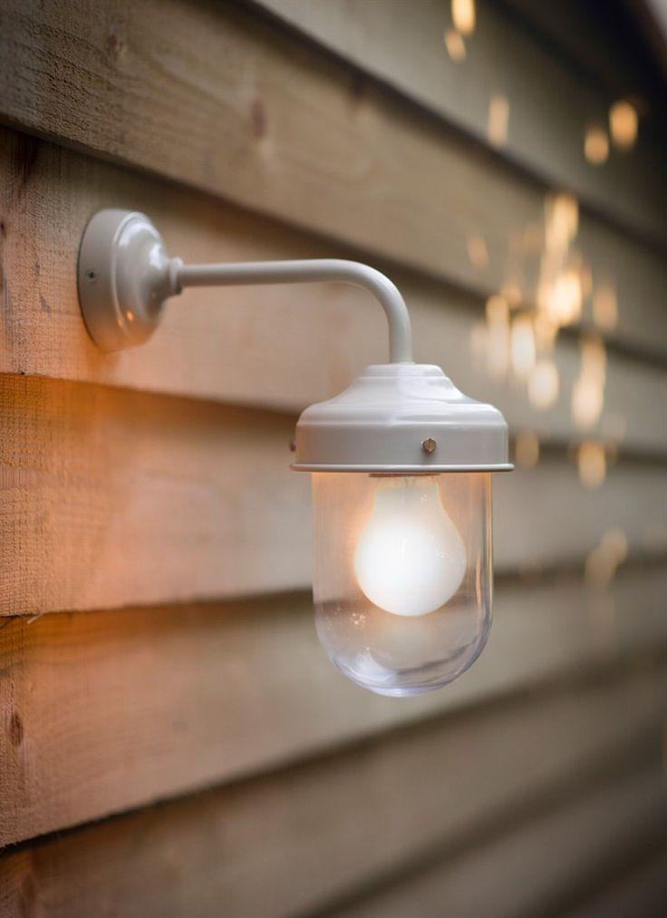 Barn Light in Clay - Steel