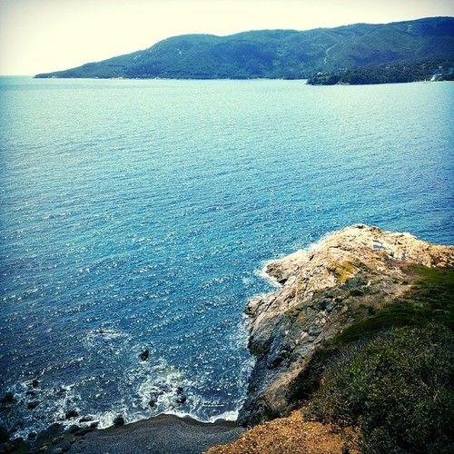 Isola d'Elba - Porto Azzurro - Punta di Barbarossa #nature #natura #mare #pesca #fishing #sea #elba #portoazzurro http://ift.tt/R3ocB0