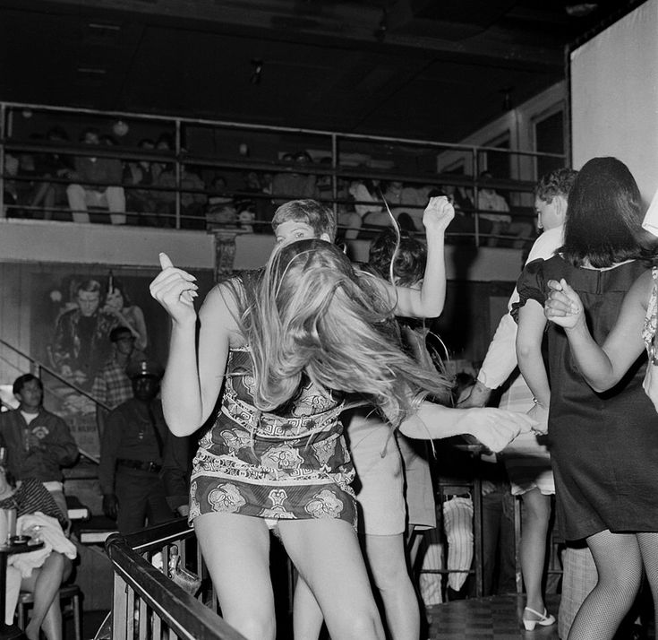 Whisky a Go Go,  Sunset Strip, Los Angeles,California. circa 1966