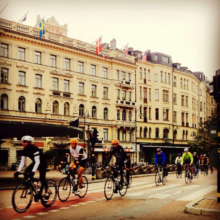 #Bikers in Stockholm