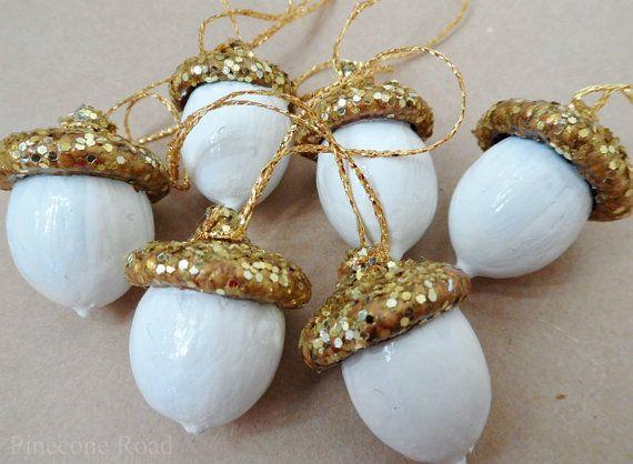 .Eicheln Weiß - Gold