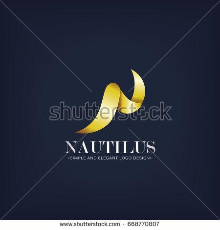 N Initial Logo Vector