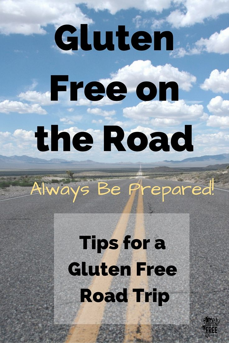 When you are Gluten Free on the Road be sure to pack your gluten free goodies so you always have safe food. Road trips are fun, but keep yourself healthy! Check out all our tips for a gluten free road trip! via @glutenfreemiami