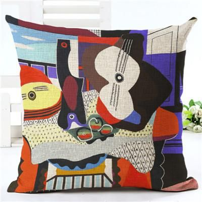 Famous Painting Cushions Covers