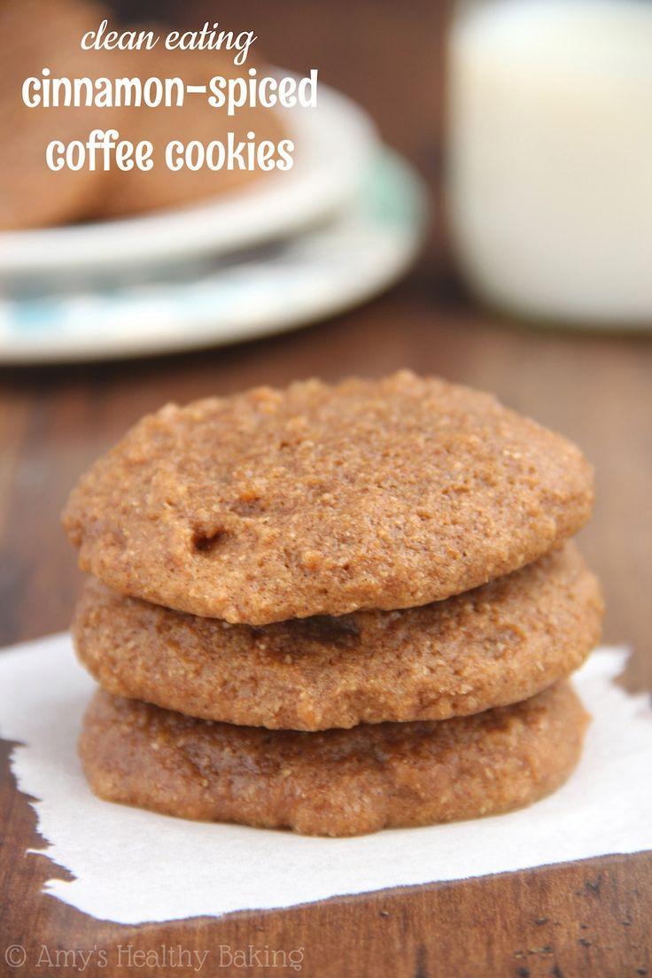 Cinnamon-Spiced Coffee Cookies